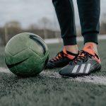 サッカー選手の「足首」ストレッチ